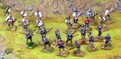 Muskets&Tomahawks British Wilderness Force OOP