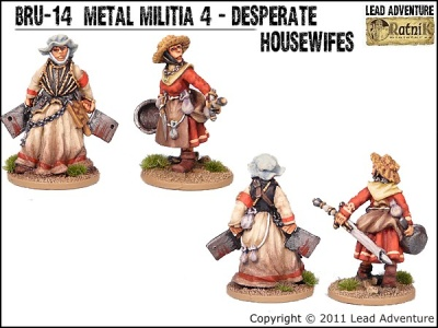 Metal Militia of Bruegelburg 4 - Desperate Housewives (2)