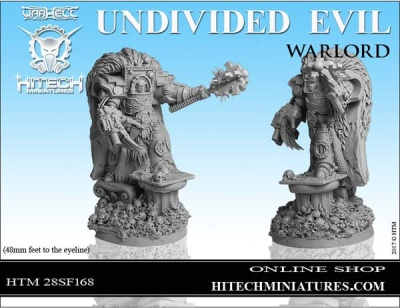28mm Undivided Evil Warlord