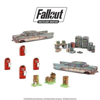 Fallout: Wasteland Warfare - Starter Scenic Set