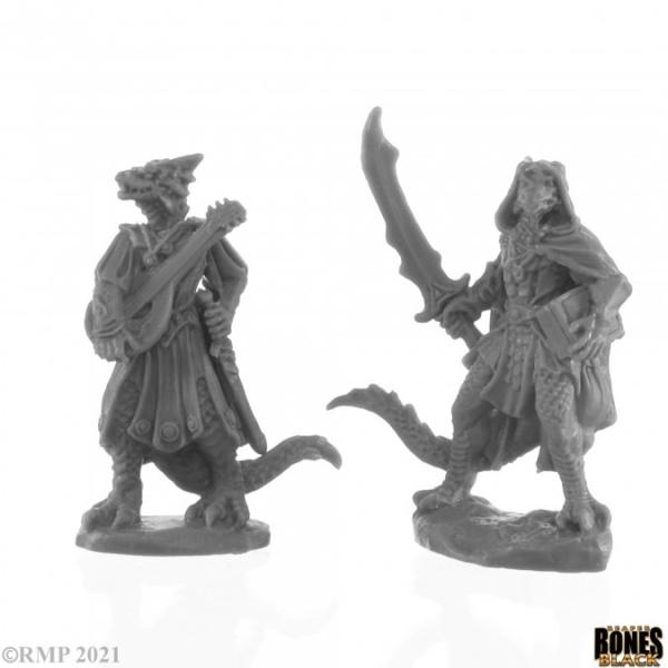 Dragonfolk Bard and Thief (2)