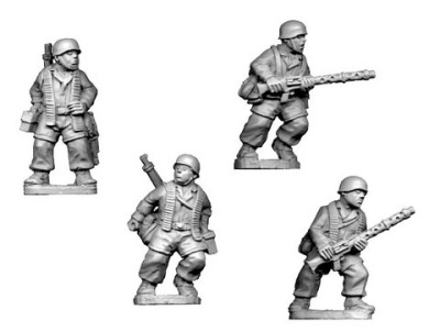 Early German Para MG34 Teams (4)