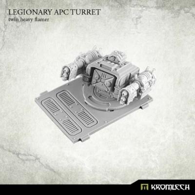Legionary APC turret: Twin Heavy Flamer