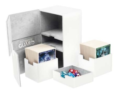 Twin Flip'n'Tray Deck Case 200+ Xenoskin Weiß