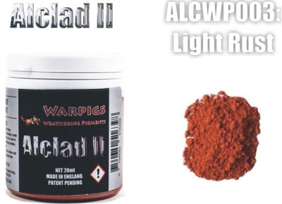 Alclad II PIGMENT: Light Rust