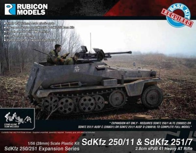 SdKfz 250/251 Expansion - 250/11 & 251/7 sPzB 41