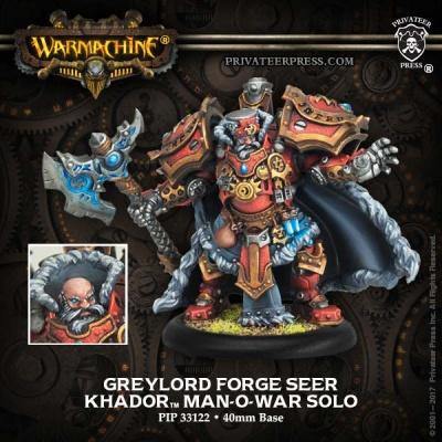 Khador Man-O-War Solo Greylord Forge Seer