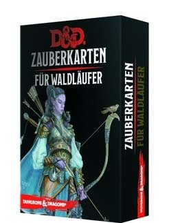 D&D: Zauberkarten für Waldläufer