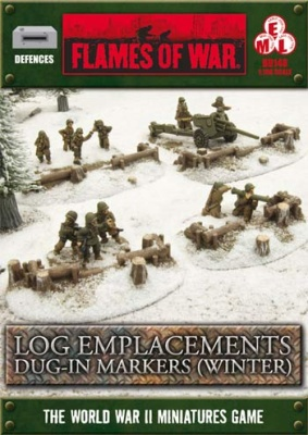 Log Emplacement Dug-in Markers: Winter