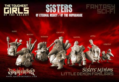 Minions (Sisters F/SF)