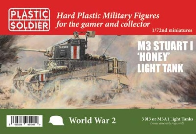 1/72nd Allied Stuart I Honey and M3 tank