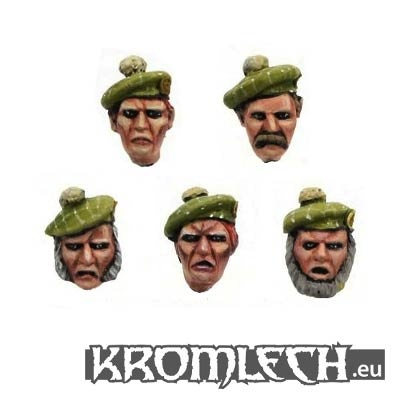 Kromlech Highlander Heads (10)