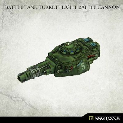 Battle Tank Turret : Light Battle Cannon
