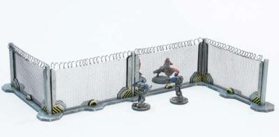 Schutzzaun-Bausatz Stahl (4)