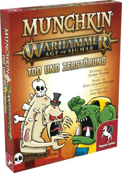 Munchkin Warhammer Age of Sigmar: Tod und Zerstörung Erw.