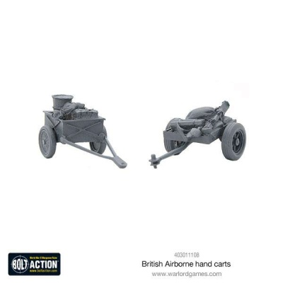 British Airborne Hand Carts