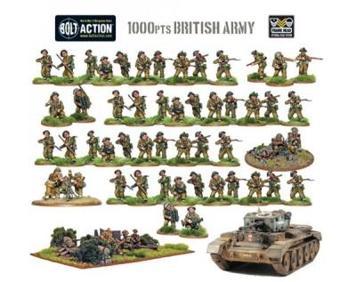 Bolt Action: British Army (1000p)