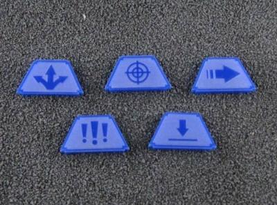 Infanterie Marker (blau)