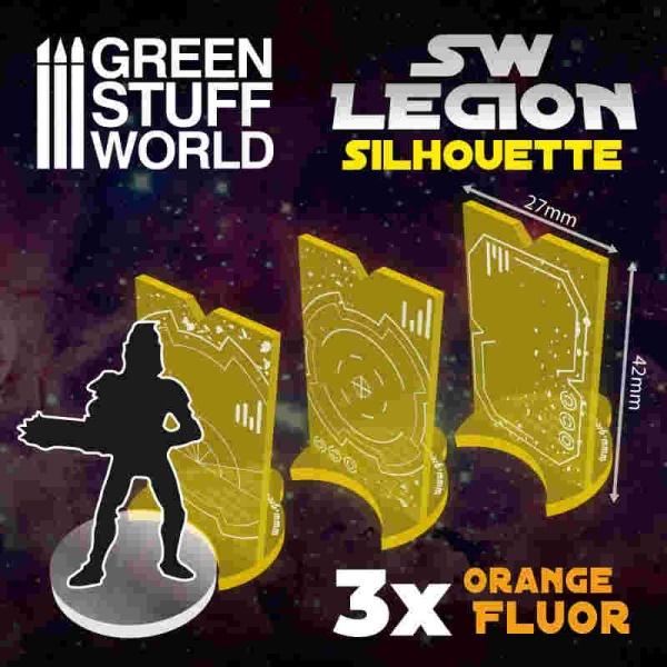 SW Legion Silhouette - Fluor Orange
