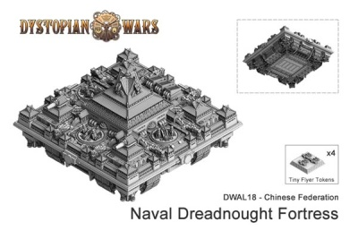 Chinese Federation Dreadnought Fortress (1) (OOP)