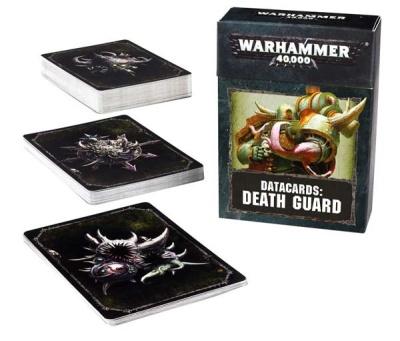 Datakarten: Death Guard (Englisch)
