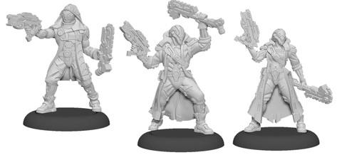 Vassal Reavers - Warcaster Aeternus Continuum Squad