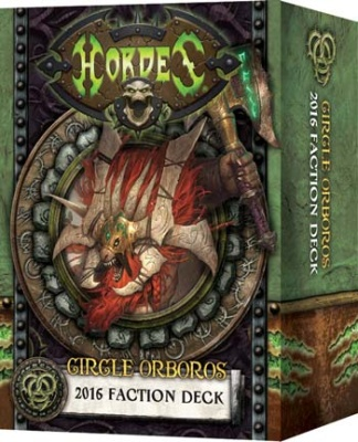 HORDES Circle 2016 Faction Deck