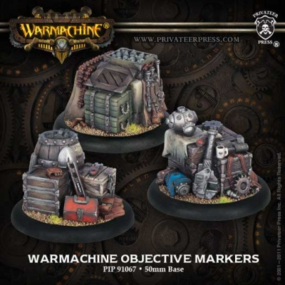 Warmachine Objective Markers (plastic)