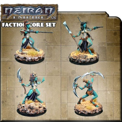 Counterblast Adventure Battle Game Neiran Faction Core Set