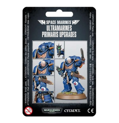 Upgrades: Ultramarines Primaris