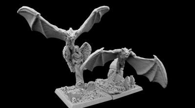 Gravehaunt Hills Vampiric Bats
