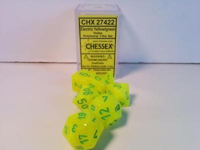 Vortex Electric Yellow w/green SignatureT Polyhedral 7-Set