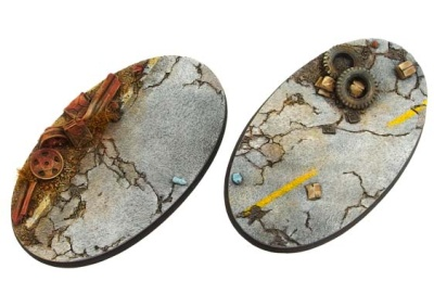 Highway Bases, Oval 90mm (2)