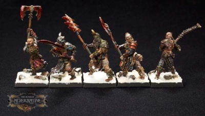 Wasteland Barbarians (Great Weapon) (10) RESIN