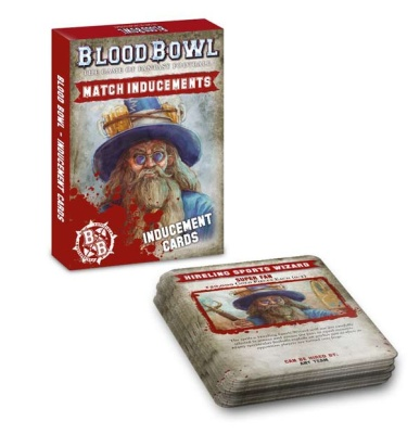 Blood Bowl Inducement-Karten