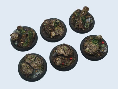 Forest Bases WRound 40mm (2)