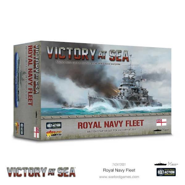 Victory at Sea Royal Navy Fleet