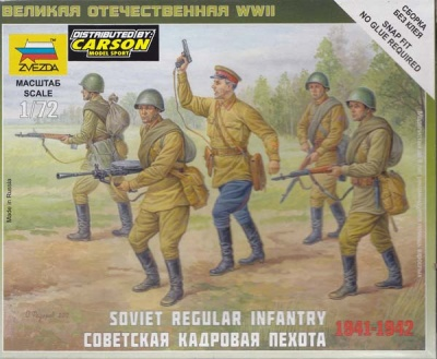 1:72 Soviet Regular Infantry 1941-1942