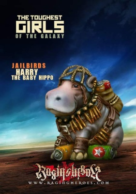 Harry the Baby Hippo. JB Macot (JB)