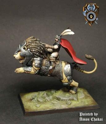 Siberias Lion Rider A