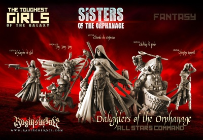 Daughters of the Orphanage - All Stars Command Group (Sister