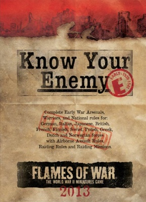 Know Your Enemy: 2013 Early War Edition