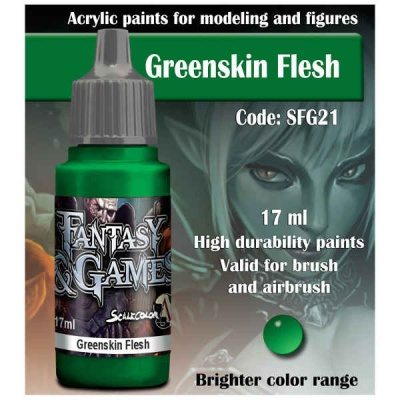 Scalecolor Fantasy 21 Greenskin Flesh (17ml)
