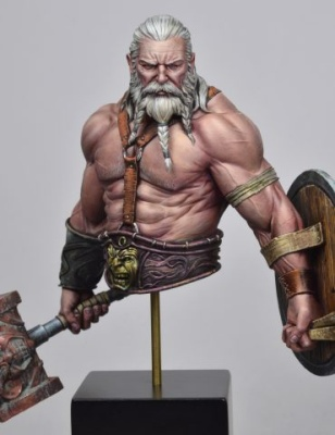 Bress the Old Barbarian BUST