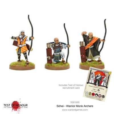 Sohei - Warrior Monks Archers