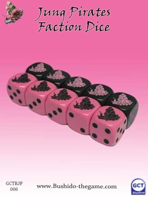 Jung Pirate Faction Dice (10)