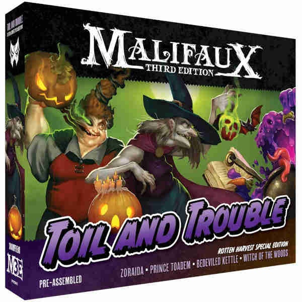 Malifaux (M3E): Rotten Harvest - Toil And Trouble Box Set