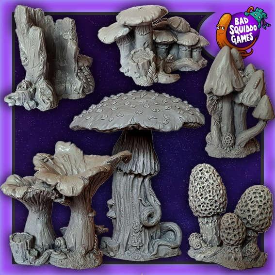 Giant Mushroom Forest