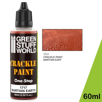 Crackle Paint - Martian Earth 60ml