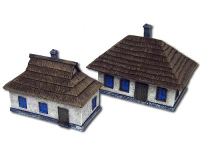 Ukrainian Houses (2) (15mm)